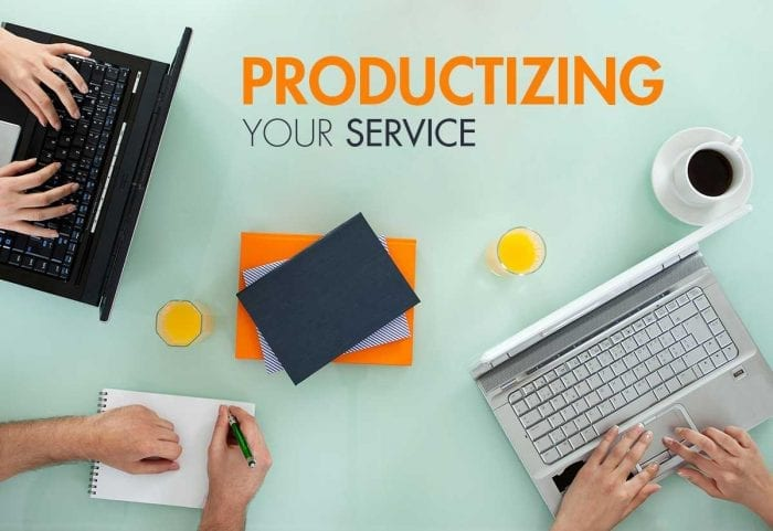 productize your services