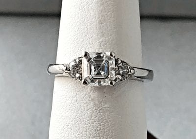 Engagement Ring Asscher Cut